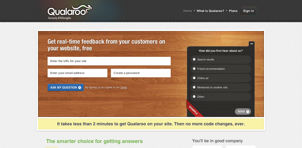 Qualaroo | Save Business TimeSave Business Time