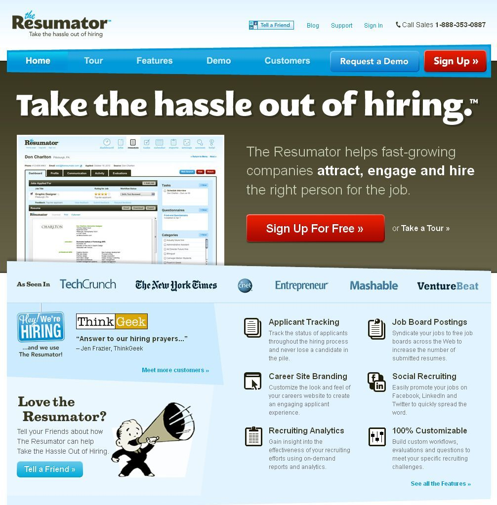 The Resumator | Save Business TimeSave Business Time